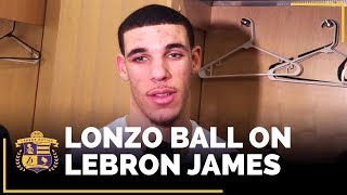 Lonzo Ball Talks Magic Johnson, LaVar, LeBron James