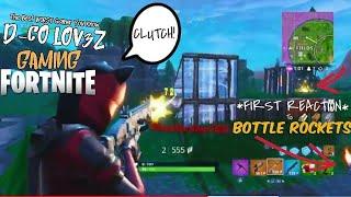 Fusées à la bouteille de 1ST REACTION D-Co LOV3Z Gaming-Fortnite (BR): #2forTuesday #2