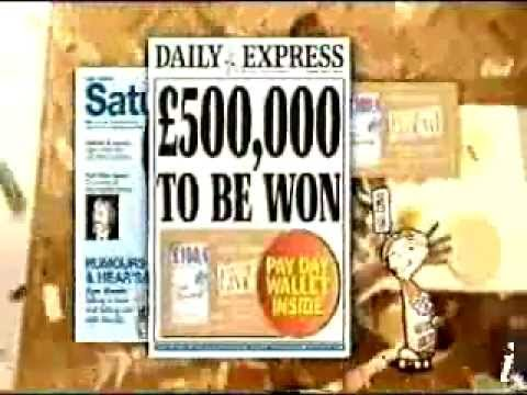 Old Daily Express commercial!