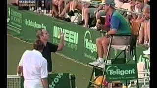 Jimmy Connors vs McEnroe Final - Nuveen 1998