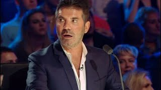 Simon Cowell first time on tv