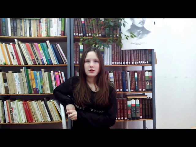 Изображение предпросмотра прочтения – АнастасияНовоселова читает произведение «Незабудка» М.Ю.Лермонтова