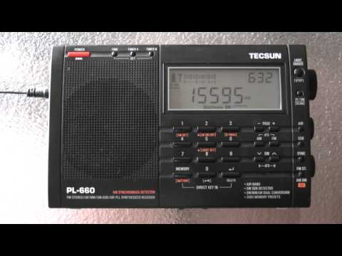 Vatican Radio (English) 15595kHz Shortwave 06:30UTC