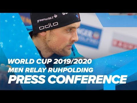 Ruhpolding Men Relay Press Conference
