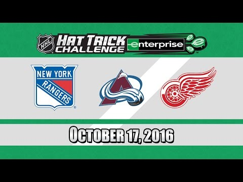The Red Wings Will Score 3 Goals! NHL Hat Trick Challenge - October 17, 2016