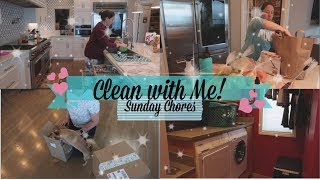SPEED CLEAN WITH ME | SUNDAY CHORES | CLEANING MOTIVATION