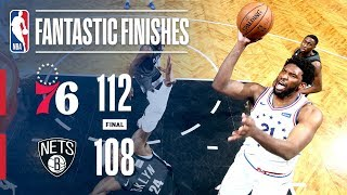 Nets & 76ers Engage in an EPIC Game 4 Ending | April 20, 2019