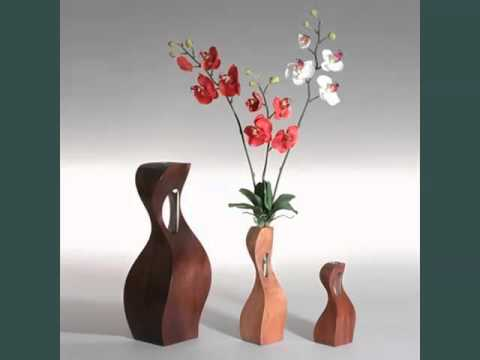 Wood Decoration Pieces Set Of Pictures - YouTube