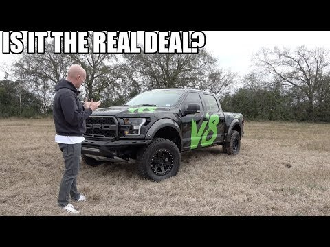 FINALLY a V8 Ford RAPTOR! A Different ANIMAL!