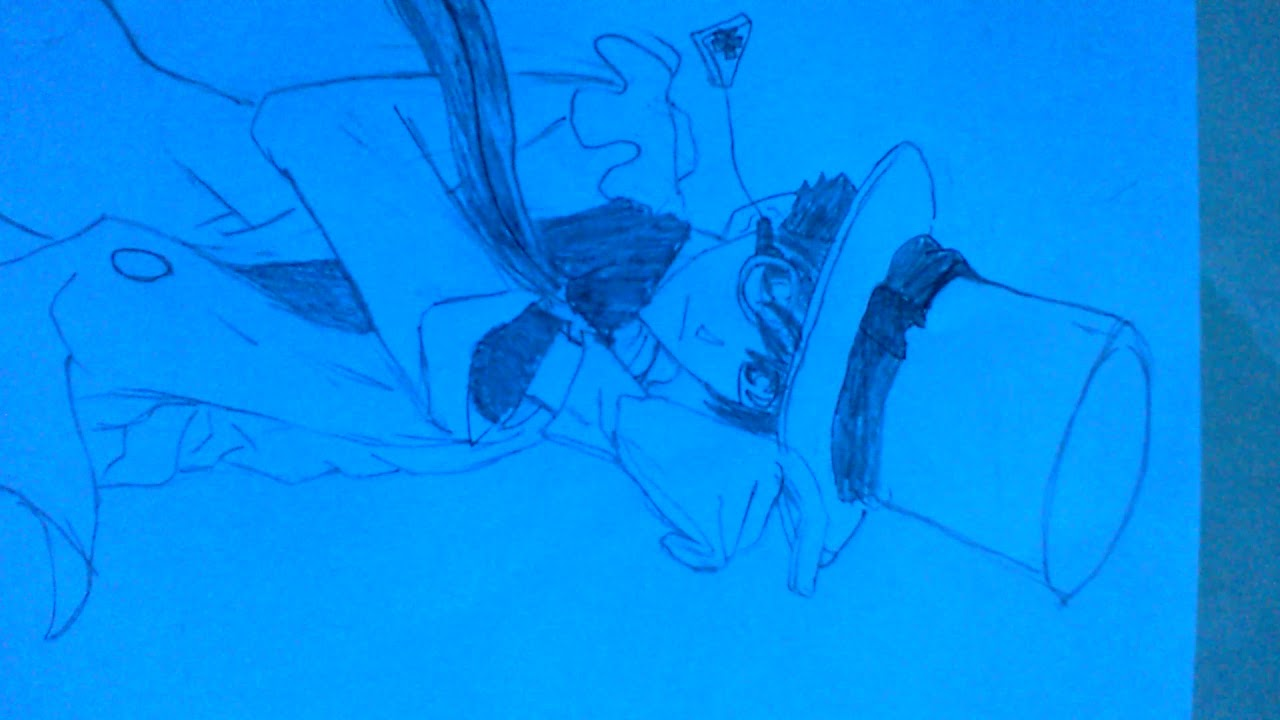 Vẽ Kaito Kid phần 2