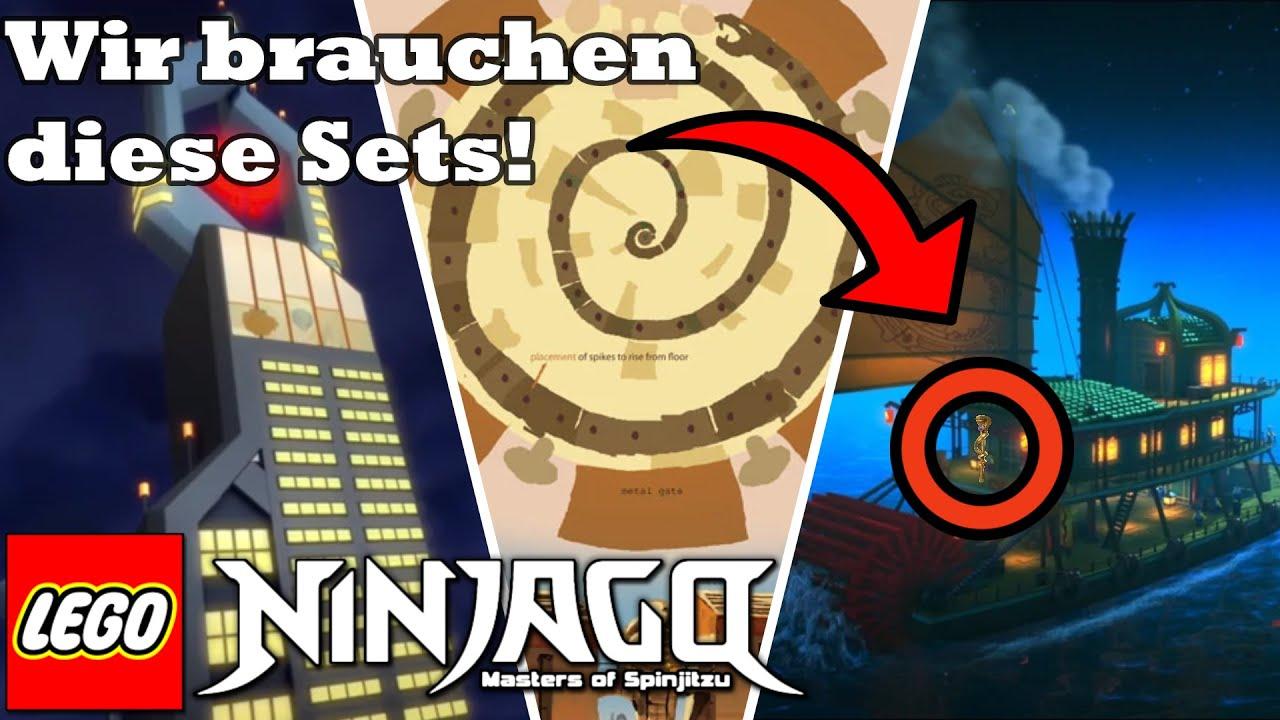 Download TOP 10 LEGO Ninjago SETS die wir UNBEDINGT brauchen   Lego Ninjago Deutsch