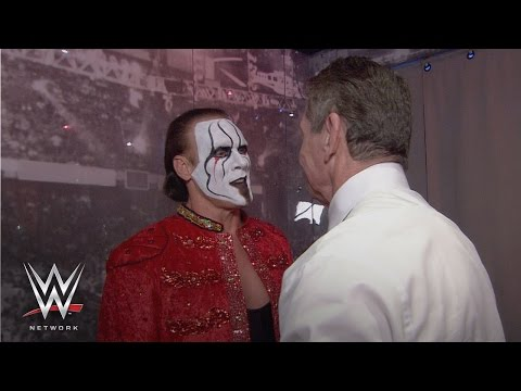 Thumbnail: WWE Network: See what went on backstage between Triple H, Sting and Mr. McMahon on WrestleMania 24
