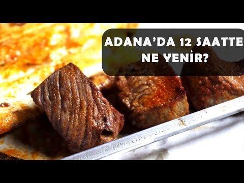 Adana'da bir günde neler yiyebildik? Kebap, Kadayıf, Muzlu süt ve dahası. (Adana lezzet turu)