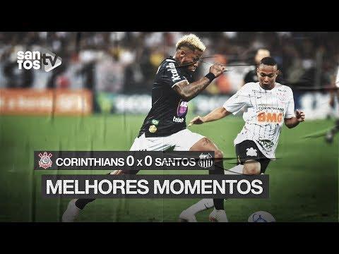 CORINTHIANS 0 X 0 SANTOS | MELHORES MOMENTOS | BRASILEIRÃO (26/10/19)
