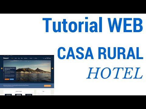 Cómo hacer una web para una casa rural, hotel o alojamiento turístico