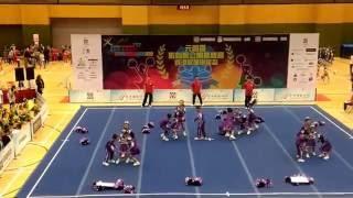 元朗區體育節2016 元朗區啦啦隊公開錦標賽 小學組 宣道會
