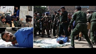 Rapist who murdered 3-year-old girl publicly executed with machine gun under....