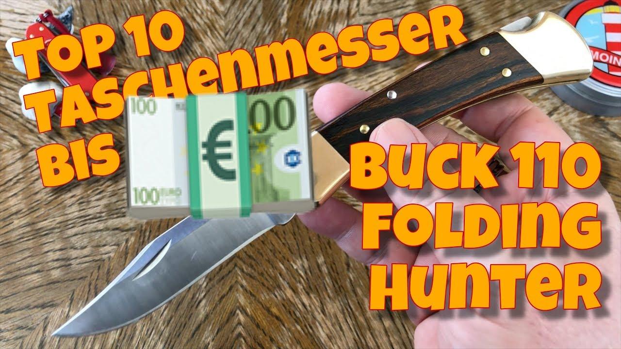 top 10 taschenmesser bis 100 euro platz 7 buck 110 youtube. Black Bedroom Furniture Sets. Home Design Ideas