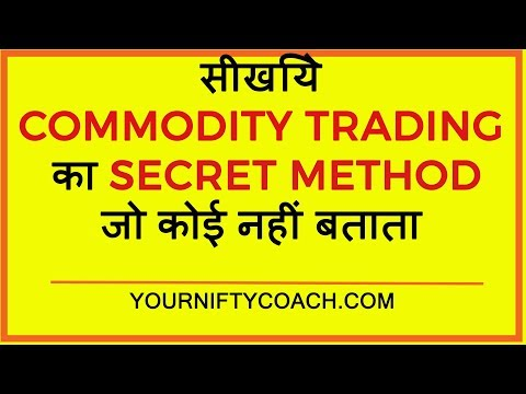 How to trade in MCX commodity India Hindi!The Best Method Ever! Yourniftycoach