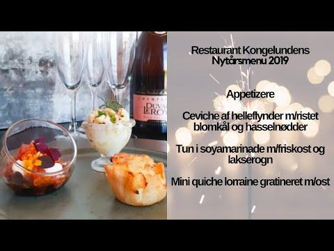 Restaurant Kongelundens Nytårsmenu 2019 Appetizere