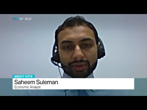 Interview with economic analyst Saheem Suleman about UK referendum to leave the EU