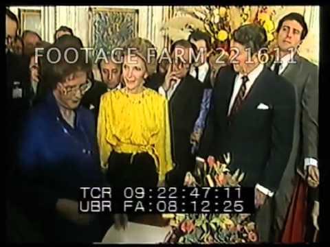 1985 Gorbachevs & Reagan Geneva 221611-10 | Footage Farm