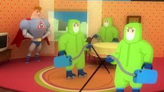 Аркадий Паровозов Спешит на помощь - все серии -сборник 76-100- развивающий мультфильм для детей