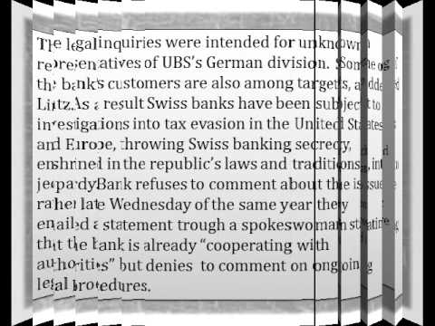 bp holdings spain-UBS Germany questioned over alleged tax fraud