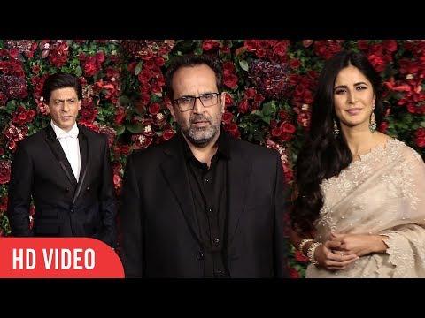 Zero Movie Cast At Ranveer-Deepika Reception Party | #DeepVeer Grand Party