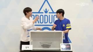 jjcc 더블제이씨 san cheong yul produce 101 hidden box mission