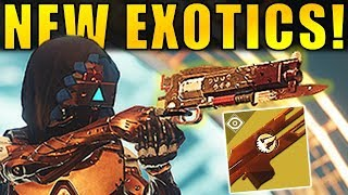 Destiny 2 News: NEW EXOTICS REVEALED! NEW TRAILER! | Curse of Osiris