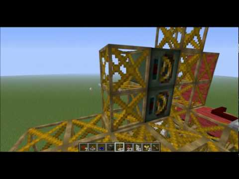 Red Power Tutorial: Building a Quarry Machine