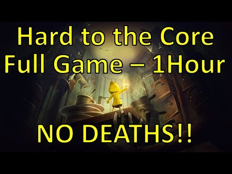 Little Nightmares | Hard To The Core Walkthrough | No Deaths + Under 1 Hour Full Game [57:09]