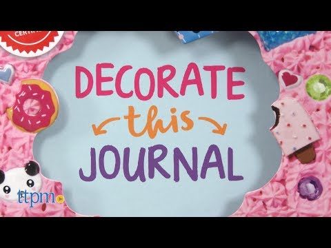 Decorate This Journal from Klutz