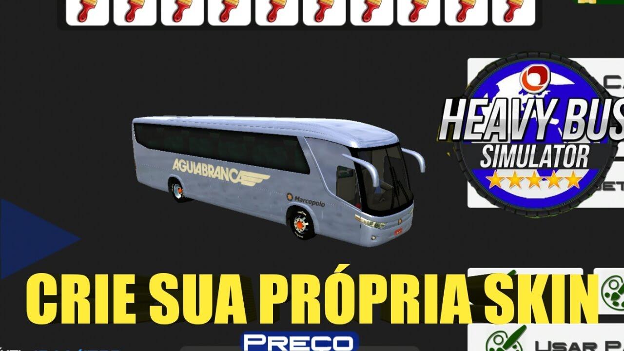 Como CRIAR e COLOCAR as SKINS no Heavy Bus Simulator - YouTube c2b4e7b5801f7