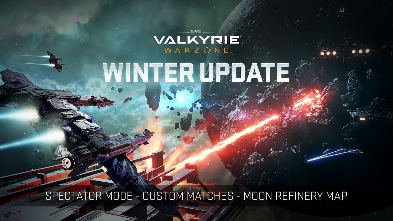 EVE: Valkyrie - Warzone | Winter Update Trailer