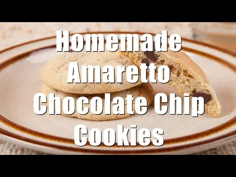 Amaretto (almond) Chocolate Chip Cookies (Med Diet Ep. 123) DiTuro Productions
