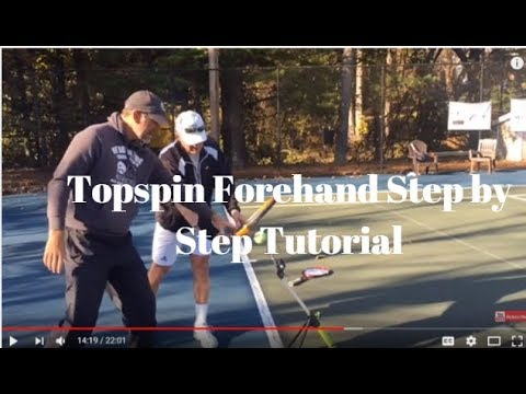How to Develop a Topspin Forehand Step by Step Tutorial: The Fix Episode 2