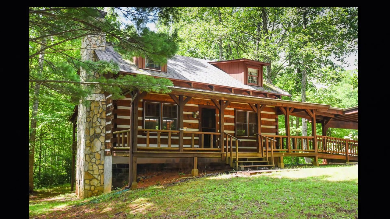 log mountain hot waterfront cabins nc newcabinpic cabin rental springs luxury