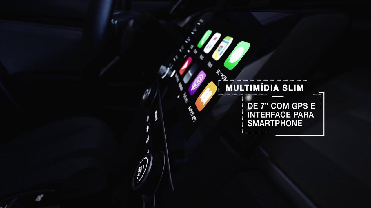 "Honda Civic 2021 - Multimídia de 7"""