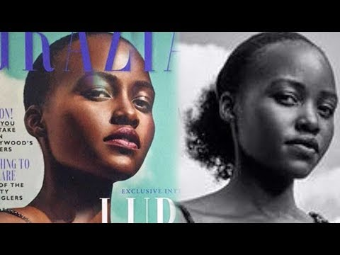 Lupita Nyong'o Slams Magazine for Photoshopping Her Cover to 'Fit Their Notion' of Beautiful Hair
