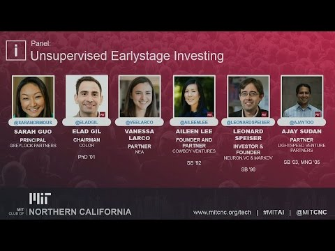 Unsupervised Earlystage Investing - MITCNC Tech Conference 2017