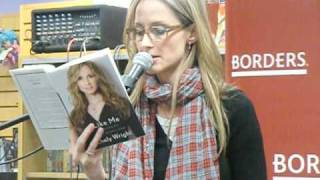 Chely Wright reads from her book, LIKE ME