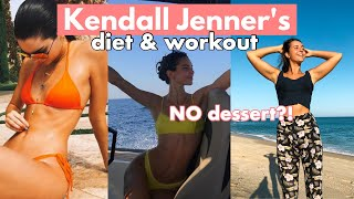 TRYING KENDALL JENNER&#39S DIET AND WORKOUT FOR A DAY