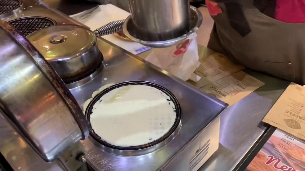 Chocotella Waffle at Magic Bites | Crunchy Waffle in Malaysia