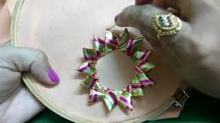 Gota work | gota flower | gota lace work | gota saree work