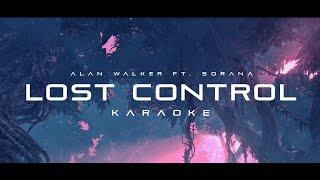 Gambar cover Alan Walker - Lost Control (feat. Sorana) (Karaoke)