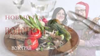 Ресторан Водограй встреча Нового Года и Рождества