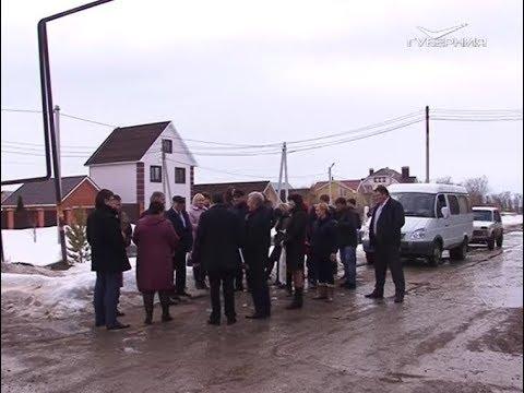 Депутат Госдумы от Самарской области Александр Хинштейн посетил Нефтегорский район