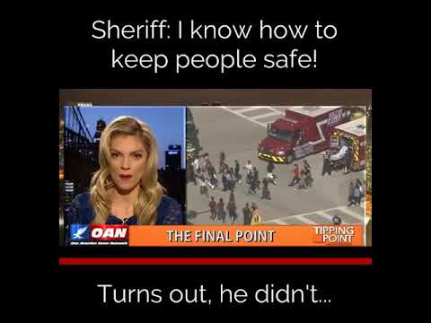 Turns out the Sheriff didn't know how to keep us safe